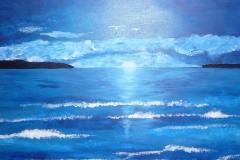 blue sea 50x70
